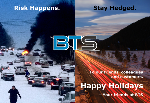 Happy Holidays From Blue Trading Systems